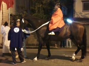 2013-09-12放生会の馬